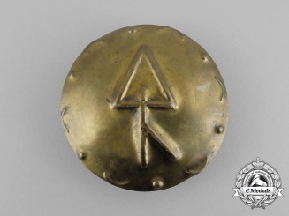 "Third Reich Period German ""Thorn - To Protect"" Runic Badge"