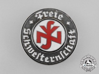 A Third Reich Period NSV Free Sisterhood Membership Badge