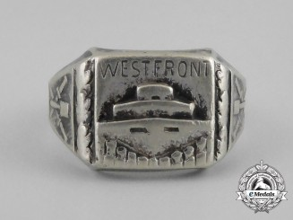 A Third Reich Period Field Made Westrfront Ring