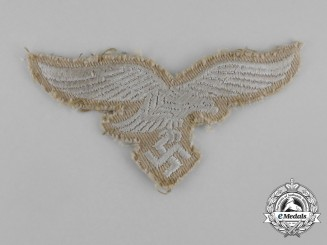 A Luftwaffe EM/NCO's Tropical Breast Eagle; Uniform Removed