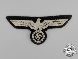An Unissued Early Type Wehrmacht Heer (Army) Panzer EM/NCO's Breast Eagle