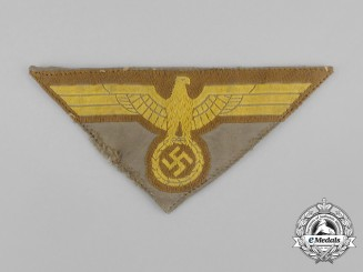 A Third Reich Period Kriegsmarine Tropical Breast Eagle; Uniform Removed