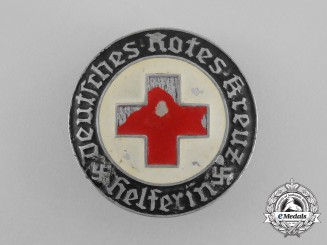 A Third Reich Period DRK (German Red Cross) Female Auxiliary Badge