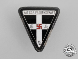 A Third Reich German Kreis (District) Level Women's League Membership Badge