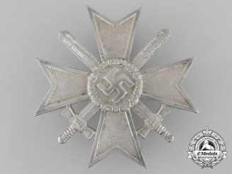 A War Merit Cross First Class with Swords by Julius Bauer & Söhne