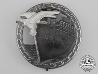 An Early Quality Blockade Runner Badge by Schwerin of Berlin