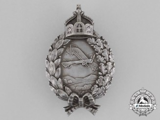 A First War Prussian Pilot's Badge by Carl Dilenius