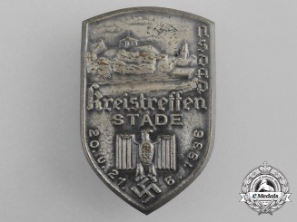 A 1936 Stade District Rally Badge
