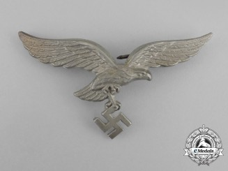 A Luftwaffe Officer's Visor Cap Eagle