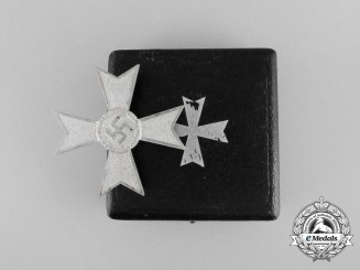 A War Merit Cross First Class without Swords by Austrian Maker Karl Schiermeister