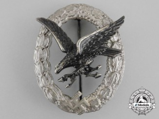 A Fine Luftwaffe Radio Operator & Air Gunner Badge by Assmann & Söhne