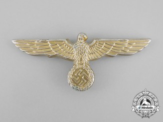 A Second War German Kriegsmarine Visor Cap Eagle