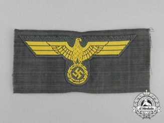 A Mint Kriegsmarine Coastal Artillery NCO/EM Overseas Cap Eagle