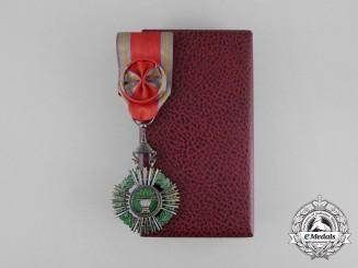 A Royal Cambodian Order of Sahametrei; 4th Class Officer (Sena)