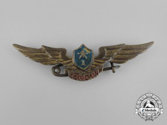 A Vietnamese People's Army Air Force Pilot 1st Class Badge