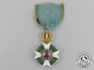 Greece, Kingdom. An Order of the Redeemer in Gold, Reduced Size Knight, c.1865