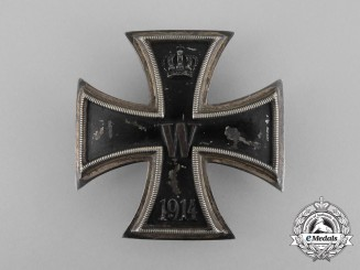 An Iron Cross First Class 1914 by Carl Dillenius