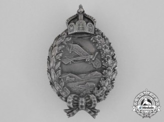 A First War Prussian Pilot Badge by Gebrüder Wegerhoff