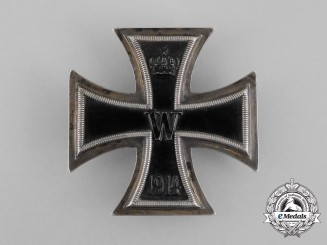An Iron Cross First Class 1914 by Unknown/Unusual Maker