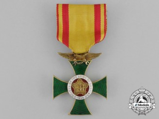 United States. A Society of the Army of Santiago Membership Cross in Gold 1898