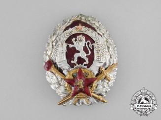 Bulgaria, Kingdom. A Regency Military Academy Badge