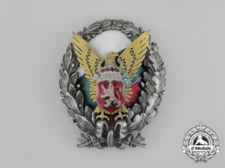 A Kingdom of Bulgaria Police Badge, c. 1930s