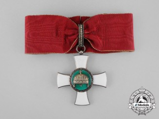 Hungary. An Order of the Holy Crown, Knight Commander Badge, 1942