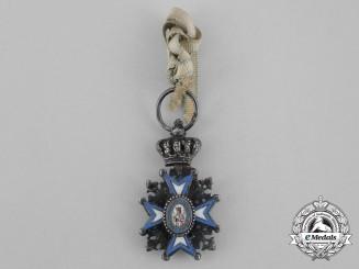 A Miniature Serbian Order of St. Sava
