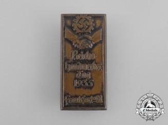 A 1935 DAF National Day of Craftsmanship Badge