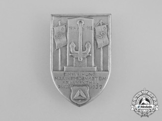 A 1937 Official Opening of the Navy Remembrance Monument Badge