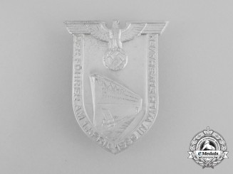 A Badge to Commemorate the Führer's Speech at the Launch of Tirpitz Badge