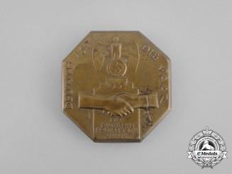 """A 1934 """"The Saar is German"""" Badge"""