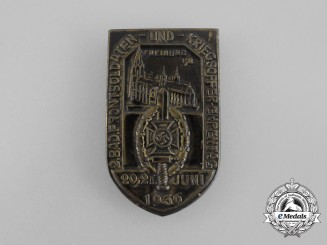 A 1936 NSKOV Front Soldiers and War Victims Remembrance Day Badge
