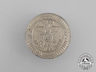 A 1939 NSDAP Bad Kissingen District Council Day Badge by Förster & Barth of Pforzheim