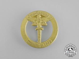 A 1934 NSDAP Munich Regional Meeting of Civil Servants Badge