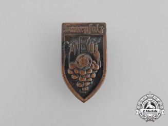 A Third Reich Period KDF (Strength Through Joy) Saarpfalz Festival badge