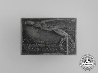 A 1937 SA Group Gera Sports Championships Badge