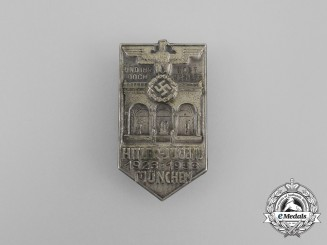 A 1933 10-Year Anniversary of HJ in Munich Badge by Wittmann of München