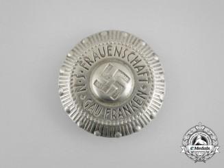A Third Reich Period Gau Franken Women's League Badge
