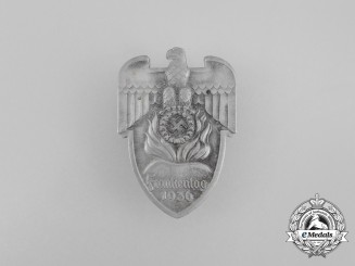 A 1936 NSDAP Day of the Franks Badge by Christina Lauer