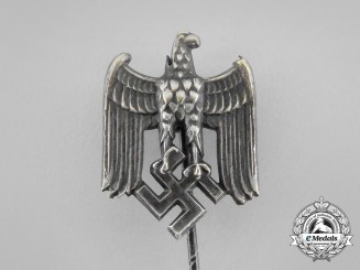 A Second War German Wehrmacht Heer (Army) Off-Duty Lapel Stick Pin