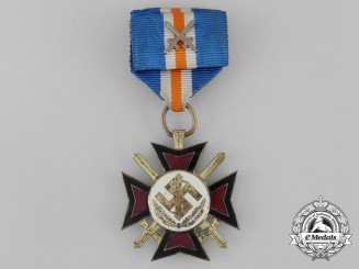 A Second War Dutch NSB Mussert Cross