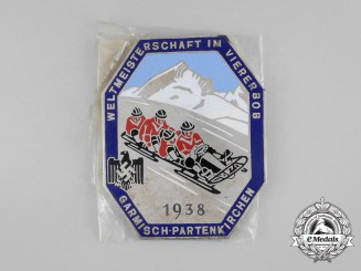 A Mint and Unissued Bobsled World Championship Table Medal