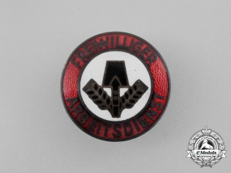 A Third Reich Period Austrian FAD (Voluntary Labour Service) Membership Badge