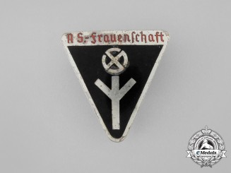 A Third Reich Period German Women's League Membership Badge by Rudolf Tham