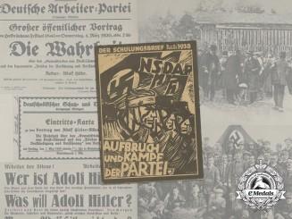 "A 1938 Issue of Propaganda Magazine ""Der Schulungsbrief"", vol. 5"