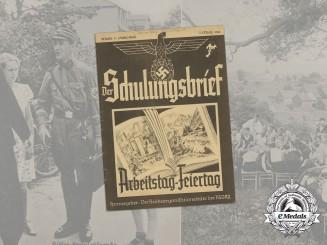 "A German Propaganda Magazine ""Der Schulungsbrief"", Vol. 5, Issue 7"