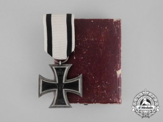 An Non-Combatant's Iron Cross 1914 Second Class in its Original Case of Issue