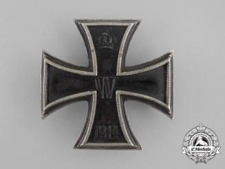 A First War Iron Cross 1st Class 1914 by Carl Dillenius