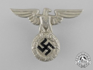 An Early NSDAP Small Political Cap Eagle; 1934 Pattern